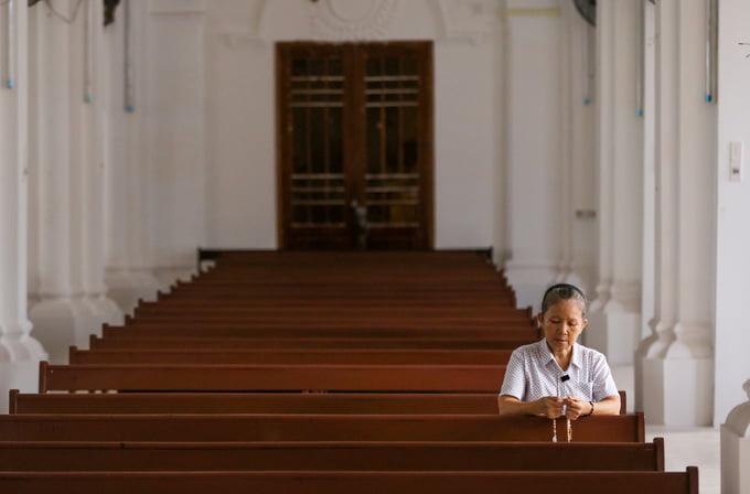 nha tho cho quan2 - Nhà thờ gần 300 tuổi cổ xưa nhất Sài Gòn