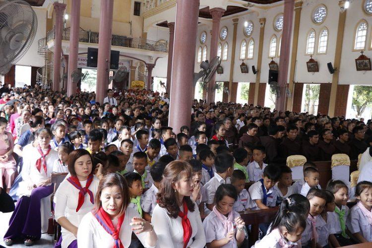 phanxico 05 750x500 - Thánh lễ kỷ niệm 90 năm hồng ân Dòng Phanxicô hiện diện trên đất Việt
