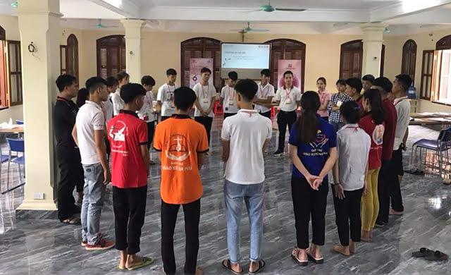 """phu ly 3 - Giới trẻ giáo hạt Phủ Lý: Khóa huấn luyện """"Lãnh đạo như Giê-su"""""""