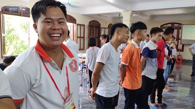 """phu ly 8 - Giới trẻ giáo hạt Phủ Lý: Khóa huấn luyện """"Lãnh đạo như Giê-su"""""""