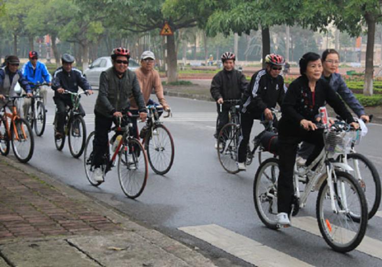 xe dap 750x525 - Caritas Việt Nam: Đi xe đạp vì môi trường