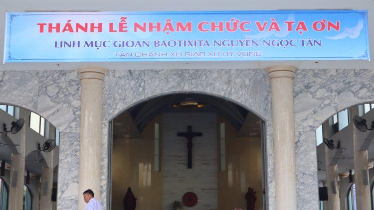 03092019 082630 1 750x422 - Đón Linh mục tân chánh xứ tại Giáo xứ Hy Vọng