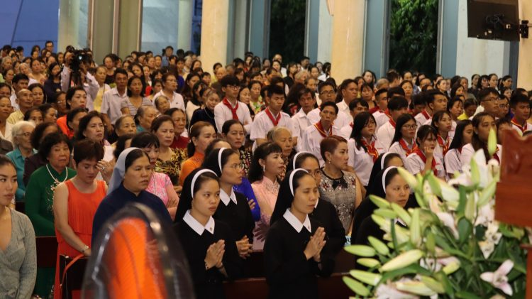 03092019 082630 12 750x421 - Đón Linh mục tân chánh xứ tại Giáo xứ Hy Vọng