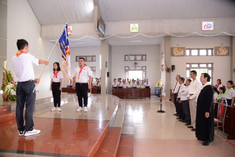 05092019 083724 750x501 - Khai giảng năm học giáo lý tại giáo xứ Long Bình