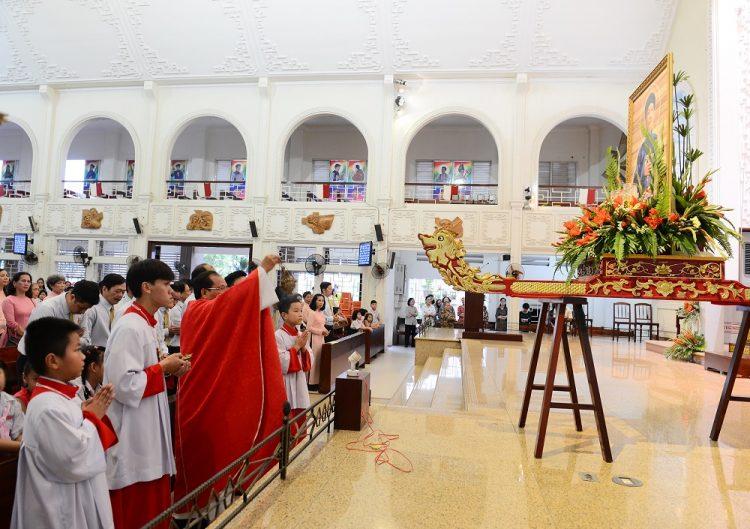 09092019 100858 1 750x529 - Giáo xứ Vườn Xoài: Hội đồng Mục vụ mừng bổn mạng
