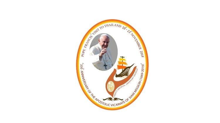 14092019 163943 750x422 - Logo và khẩu hiệu cuộc viếng thăm của ĐTC tại Thái Lan