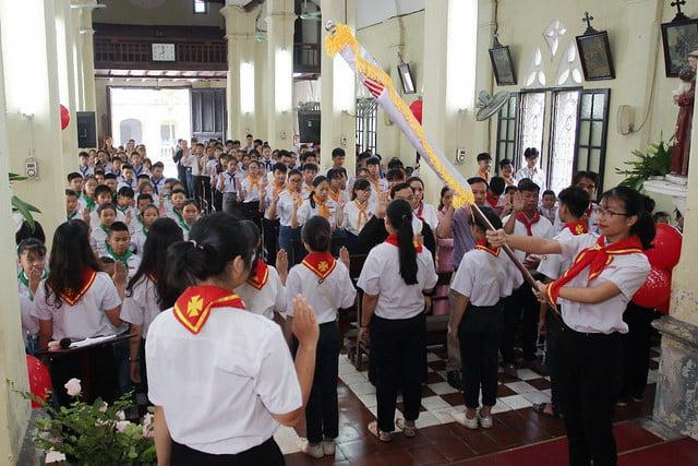 16172 thuong thuy 3 - Giáo xứ Thượng Thụy: Khai giảng năm học giáo lý năm 2019-2020