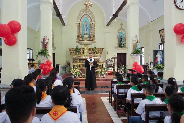 16172 thuong thuy 4 - Giáo xứ Thượng Thụy: Khai giảng năm học giáo lý năm 2019-2020