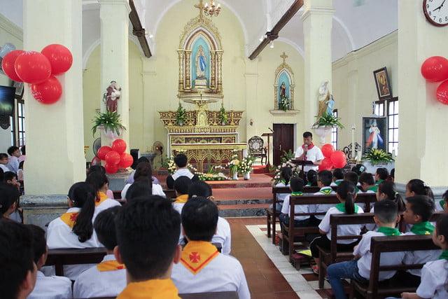 16172 thuong thuy 5 - Giáo xứ Thượng Thụy: Khai giảng năm học giáo lý năm 2019-2020