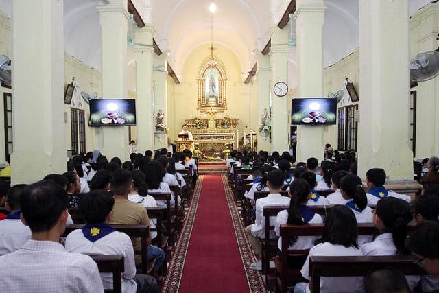 16172 thuong thuy 8 - Giáo xứ Thượng Thụy: Khai giảng năm học giáo lý năm 2019-2020