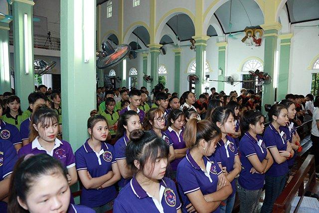 16173 phong doanh 6 - Giới trẻ giáo họ Phong Doanh quyết tâm theo gương thánh Quan thầy