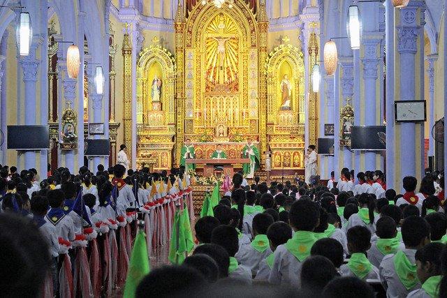 16174 xu doan phero hieu 4 - Lễ ra mắt xứ đoàn Phêrô Hiếu tại Giáo xứ Tiêu Động Thượng