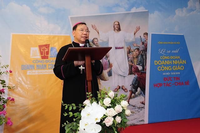 16175 doanh nhan 2 - Ra mắt Cộng đoàn Doanh nhân Công giáo Tổng Giáo phận Hà Nội