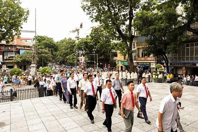 16175 doanh nhan 20 - Ra mắt Cộng đoàn Doanh nhân Công giáo Tổng Giáo phận Hà Nội