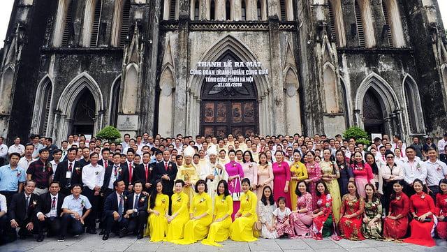 16175 doanh nhan 30 - Ra mắt Cộng đoàn Doanh nhân Công giáo Tổng Giáo phận Hà Nội