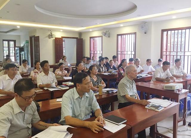 16176 glv 1 - Khóa Thường huấn Giáo lý viên TGP Hà Nội tại giáo xứ Hàm Long