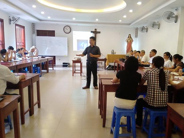 16176 glv 4 - Khóa Thường huấn Giáo lý viên TGP Hà Nội tại giáo xứ Hàm Long