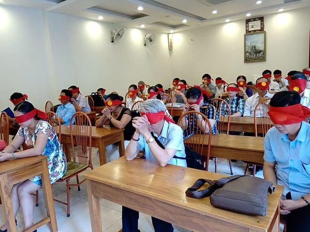 16176 glv 5 - Khóa Thường huấn Giáo lý viên TGP Hà Nội tại giáo xứ Hàm Long