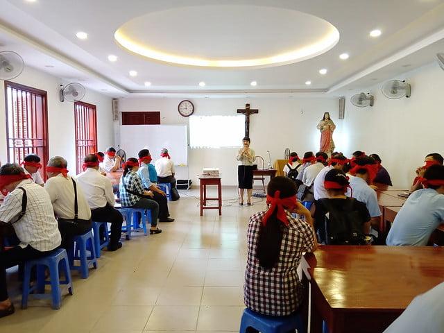 16176 glv 6 - Khóa Thường huấn Giáo lý viên TGP Hà Nội tại giáo xứ Hàm Long
