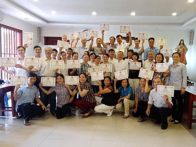 16176 glv 7 - Khóa Thường huấn Giáo lý viên TGP Hà Nội tại giáo xứ Hàm Long