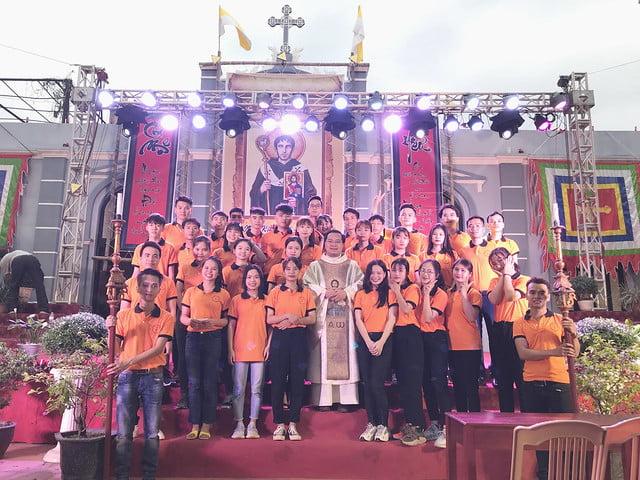 16191 gioi tre 15 - Giới trẻ giáo xứ Mạc Thượng mừng lễ quan thầy Thánh Augustino