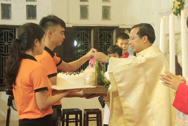 16191 gioi tre 5 - Giới trẻ giáo xứ Mạc Thượng mừng lễ quan thầy Thánh Augustino