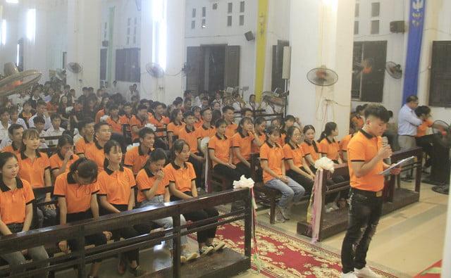 16191 gioi tre 6 - Giới trẻ giáo xứ Mạc Thượng mừng lễ quan thầy Thánh Augustino