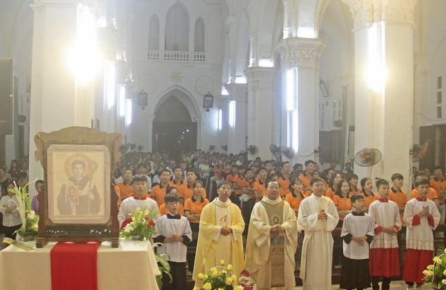 16191 gioi tre 7 - Giới trẻ giáo xứ Mạc Thượng mừng lễ quan thầy Thánh Augustino
