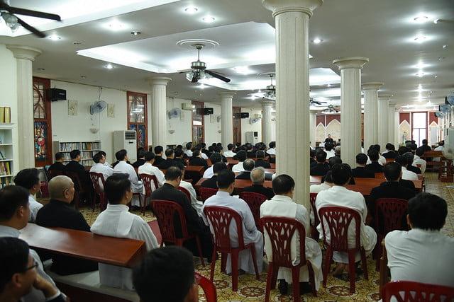 16195 tinh tam 2 - Linh mục đoàn Tổng Giáo phận Hà Nội tĩnh tâm tháng 9-2019