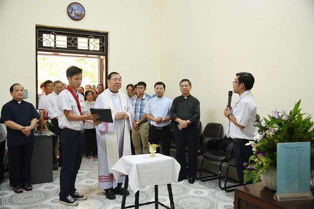 16208 thieu nhi 1 - Khai trương Văn phòng Thiếu nhi và Phòng đọc sách tại Tòa TGM Hà Nội