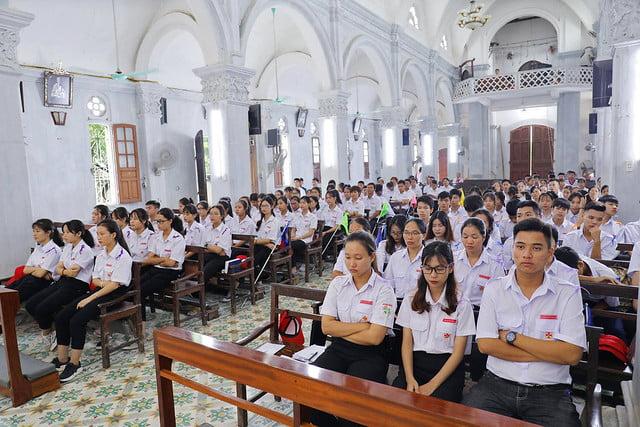 16213 gh phu xuyen 16 - Giáo Hạt Phú Xuyên: Khóa Huấn Luyện Dự Trưởng đầu tiên năm 2019