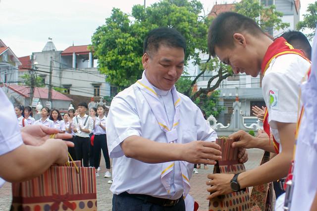 16213 gh phu xuyen 18 - Giáo Hạt Phú Xuyên: Khóa Huấn Luyện Dự Trưởng đầu tiên năm 2019