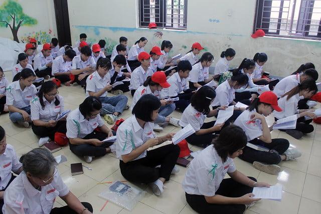 16213 gh phu xuyen 4 - Giáo Hạt Phú Xuyên: Khóa Huấn Luyện Dự Trưởng đầu tiên năm 2019