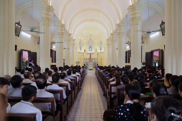16215 gh quang san 2 - Hình ảnh - Ngày chầu Thánh Thể tại giáo họ Quang Sán
