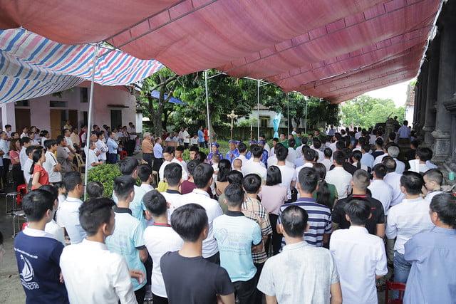 16215 gh quang san 3 - Hình ảnh - Ngày chầu Thánh Thể tại giáo họ Quang Sán