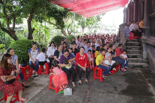 16215 gh quang san 7 - Hình ảnh - Ngày chầu Thánh Thể tại giáo họ Quang Sán