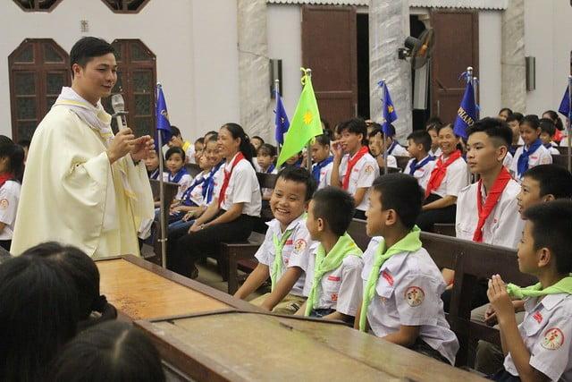 16216 phu oc 8 - Giáo xứ Phú Ốc: Thánh lễ khai giảng năm học mới 2019 – 2020