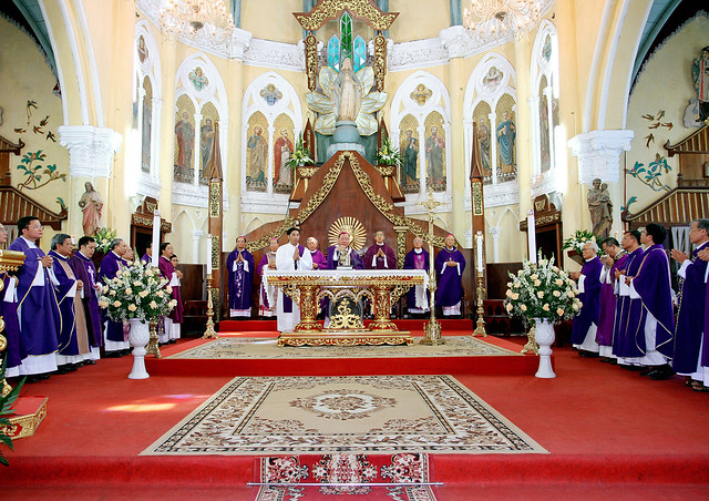 16217 le gio 1 - Thánh lễ giỗ Đức Cố Giám mục Phaolô Lê Đắc Trọng lần thứ 10