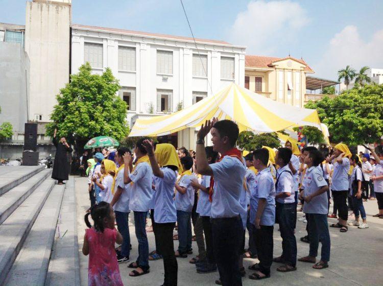 16218 ho cho 0 750x560 - Giáo xứ Nam Dư: Thiếu nhi vui đón hội chợ 2019