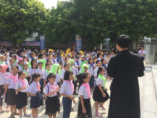 16218 hoi cho 2 - Giáo xứ Nam Dư: Thiếu nhi vui đón hội chợ 2019