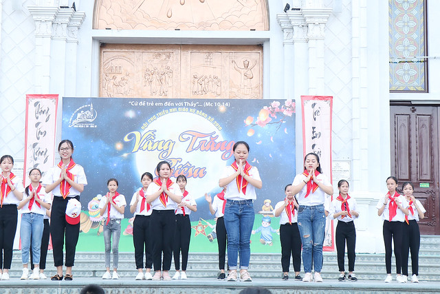16219 trung thu 1 - Hội trại Giêsu và vui Trung thu của Thiếu nhi Giáo xứ Bằng Sở