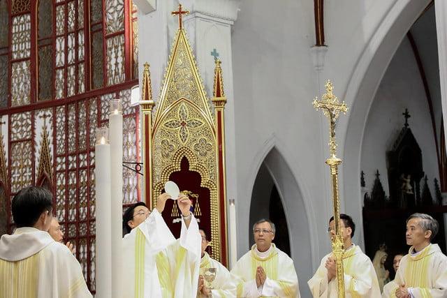 16228 khoa v 11 - Thánh lễ tạ ơn kỷ niệm 18 năm linh mục của 9 linh mục khóa V