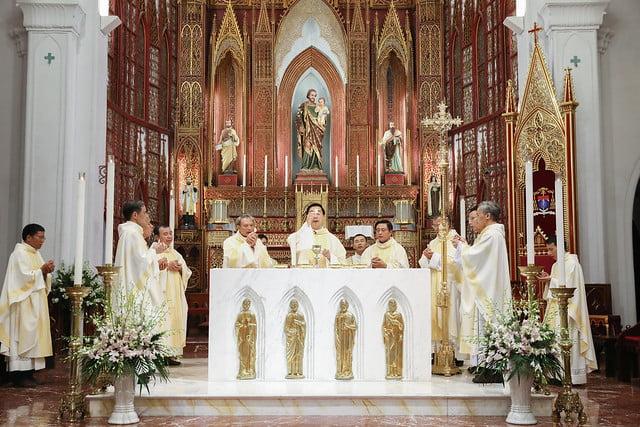 16228 khoa v 12 - Thánh lễ tạ ơn kỷ niệm 18 năm linh mục của 9 linh mục khóa V