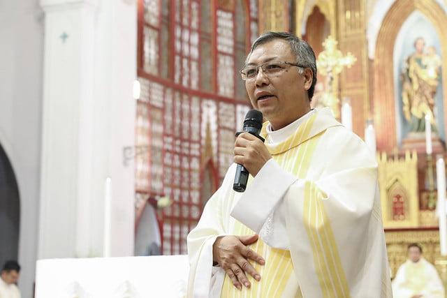 16228 khoa v 13 - Thánh lễ tạ ơn kỷ niệm 18 năm linh mục của 9 linh mục khóa V