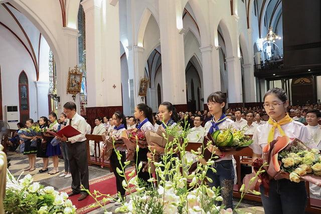 16228 khoa v 3 - Thánh lễ tạ ơn kỷ niệm 18 năm linh mục của 9 linh mục khóa V