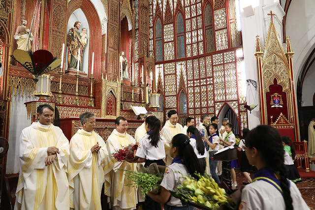 16228 khoa v 4 - Thánh lễ tạ ơn kỷ niệm 18 năm linh mục của 9 linh mục khóa V