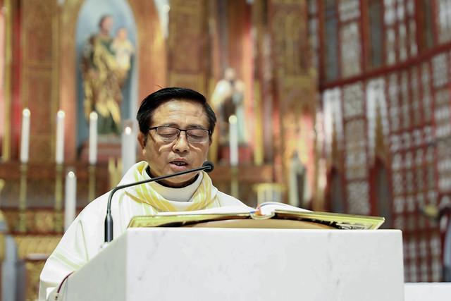 16228 khoa v 7 - Thánh lễ tạ ơn kỷ niệm 18 năm linh mục của 9 linh mục khóa V