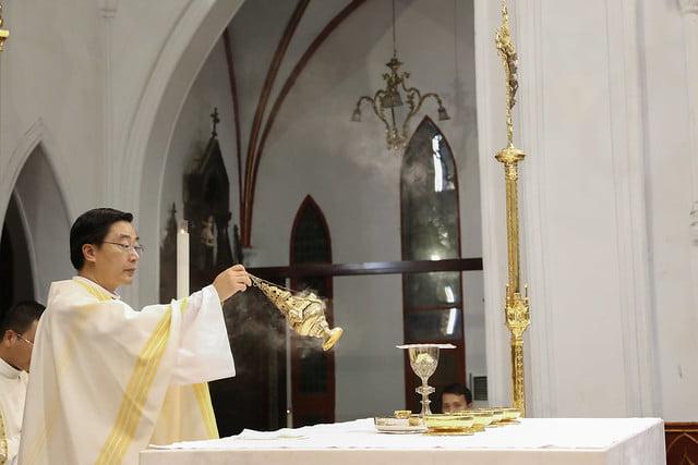 16228 khoa v 9 - Thánh lễ tạ ơn kỷ niệm 18 năm linh mục của 9 linh mục khóa V
