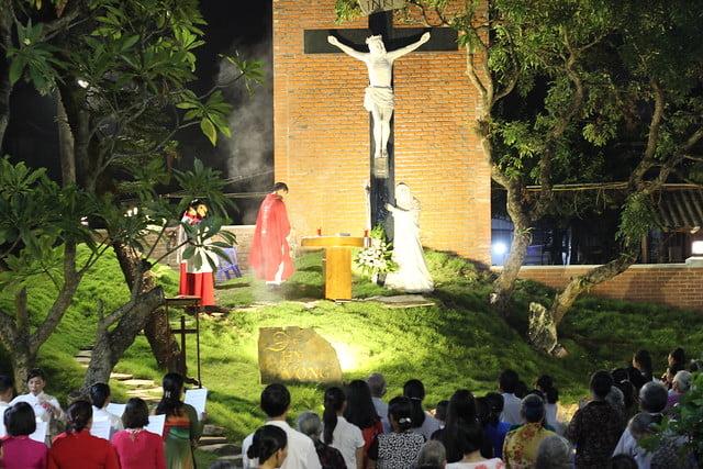 16264 doi hy vong 2 - Giáo xứ Giang Xá: Thánh lễ đầu tiên tại đồi Hy Vọng