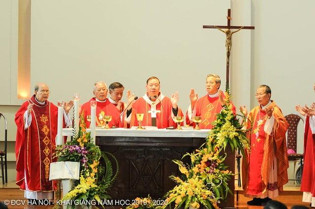 16277 khai giang 12 - Đại Chủng Viện Thánh Giuse Hà Nội khai giảng năm học mới 2019 - 2020